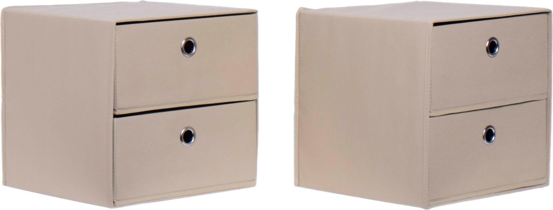 Schildmeyer Faltboxen 2er-Set | Dekoration > Aufbewahrung und Ordnung > Kästchen | Schildmeyer