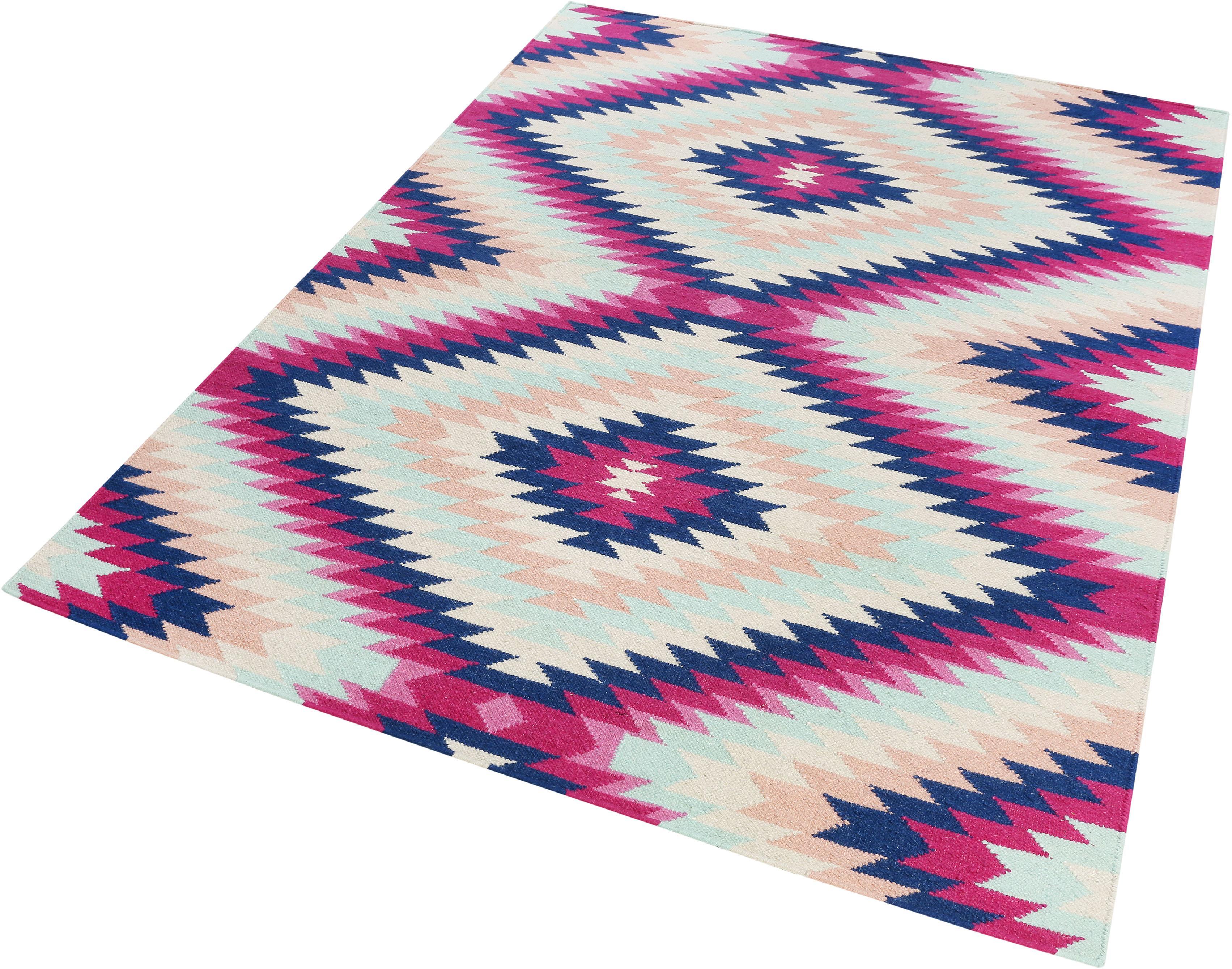 Wollteppich Aurel Accessorize Home rechteckig Höhe 5 mm handgewebt