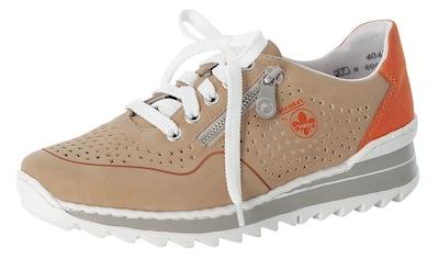 Rieker Wedgesneaker, mit perforierter Oberfläche kaufen