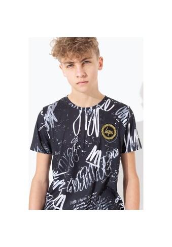 Hype T-Shirt »Kinder mit monochromem Graffiti-Motiv« kaufen