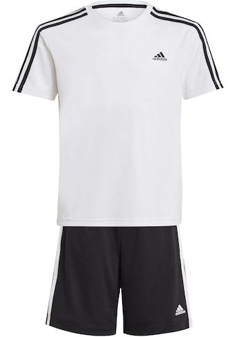 adidas Performance Trainingsanzug »3-STRIPES SET DESIGNED2MOVE AEROREADY PRIMEGREEN... kaufen