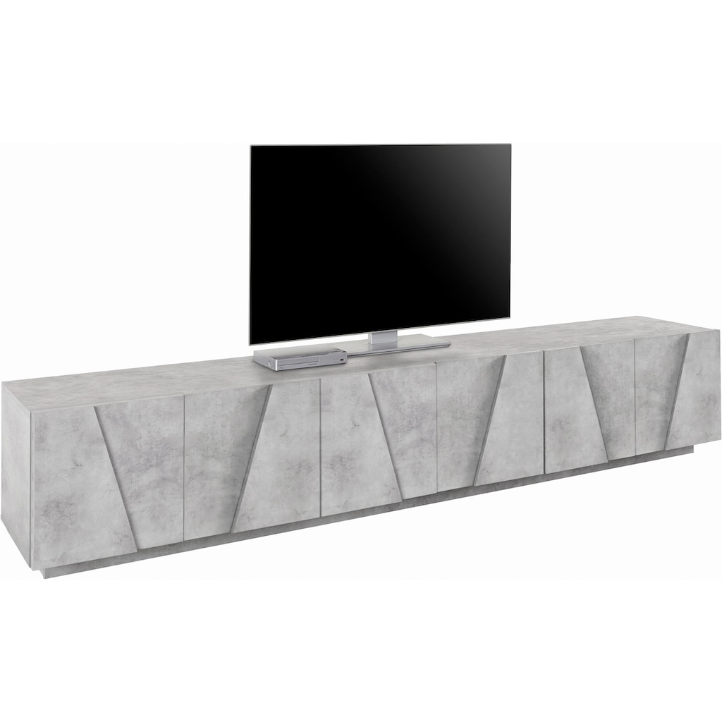 Tecnos Lowboard »PING«, Breite 243,8 cm