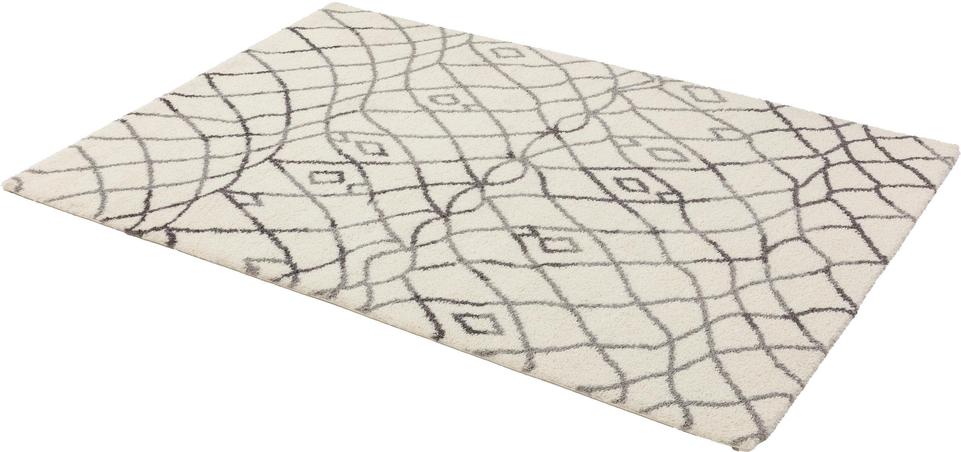 Hochflor-Teppich Rivoli 171 ASTRA rechteckig Höhe 30 mm maschinell gewebt