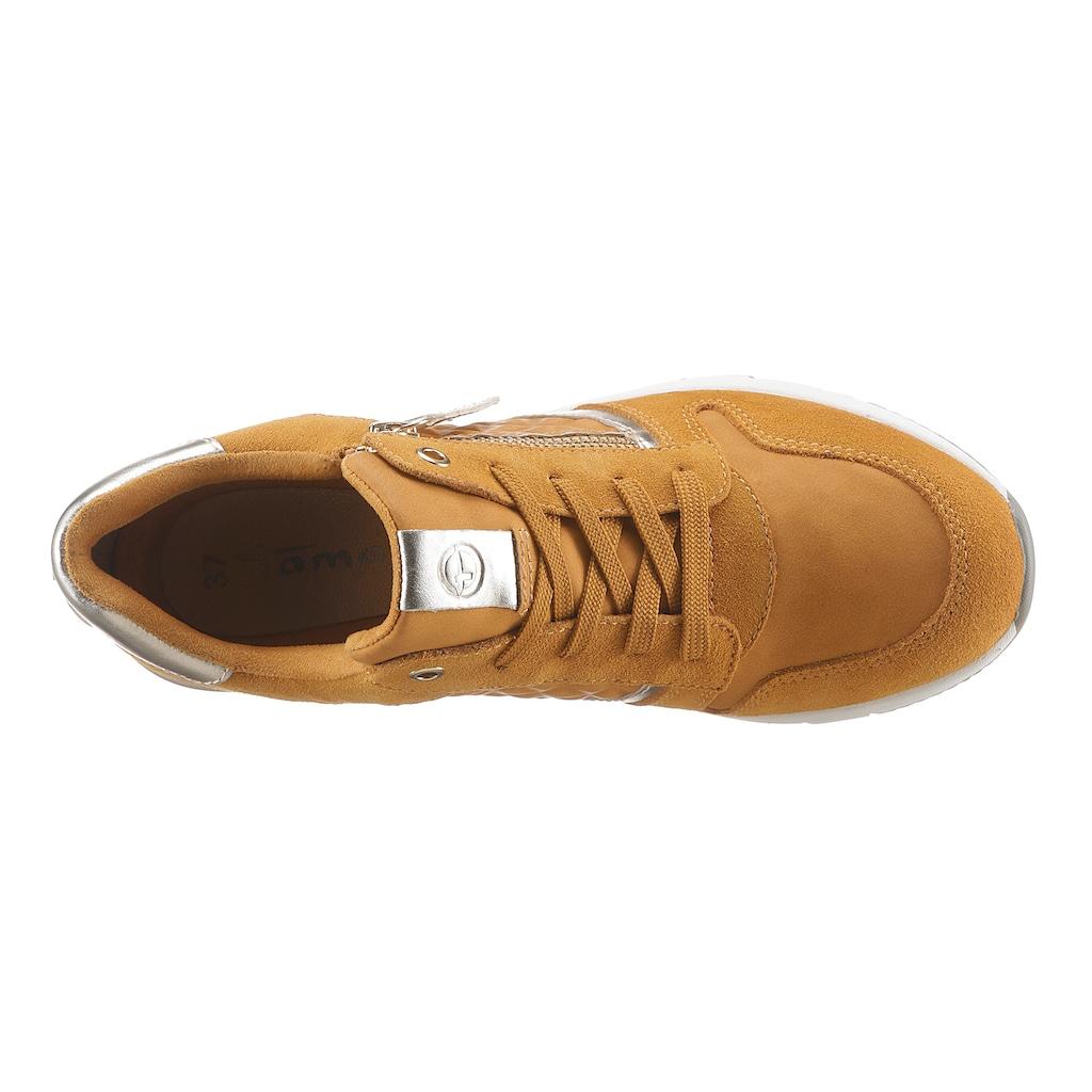 Tamaris Wedgesneaker »Rea«, mit gepolstertem Schaftrand