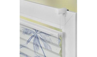 LICHTBLICK ORIGINAL Plissee »Plissee Klemmfix, ohne Bohren, blickdicht, Blueprint... kaufen