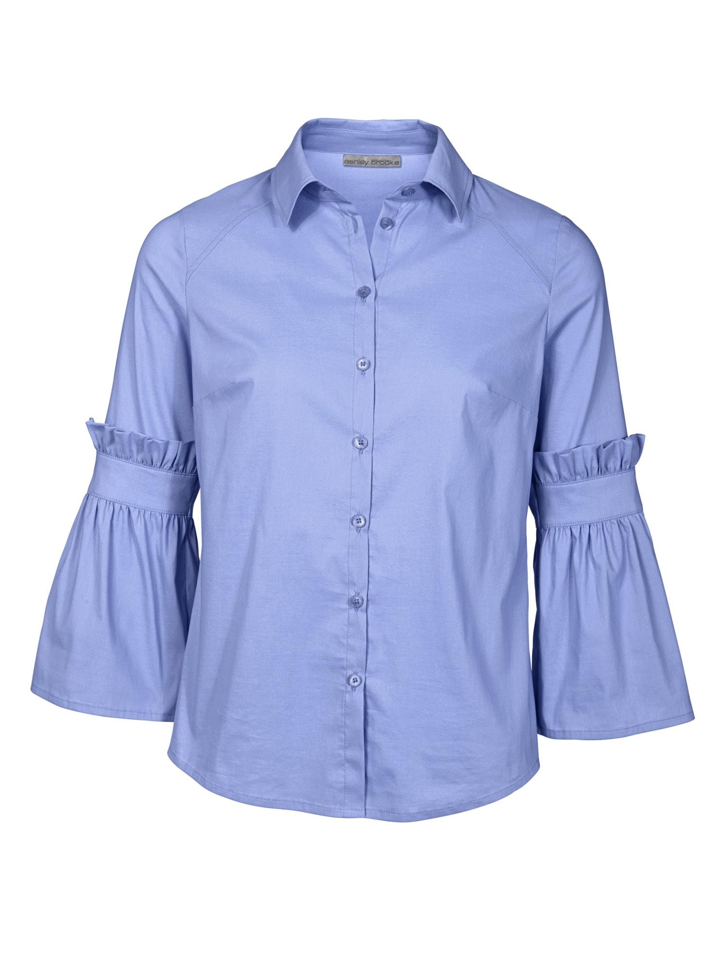 heine TIMELESS Bluse mit Rüschen und Volant