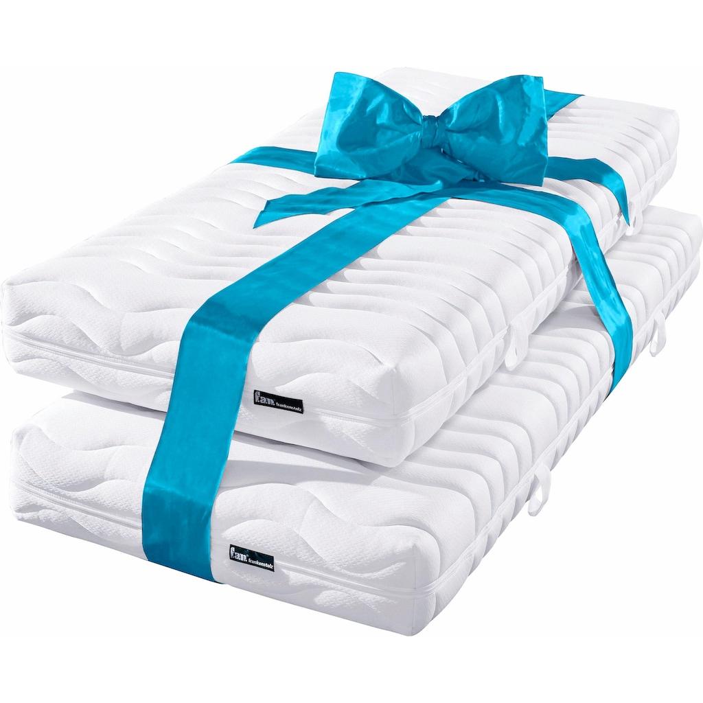 fan Schlafkomfort Exklusiv Taschenfederkernmatratze »ProVita Classic T«, 420 Federn, (2 St., 1 oder 2-tlg.), Geprüfte Qualität und lange Haltbarkeit