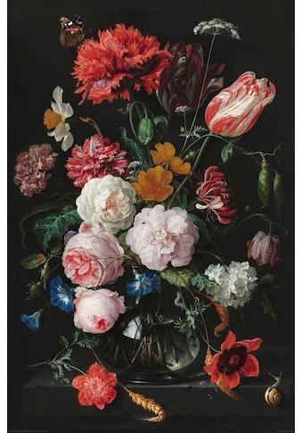 Home affaire Deco-Panel »Stilleben Blumen in Vase Jan Davidsz de Heem« kaufen