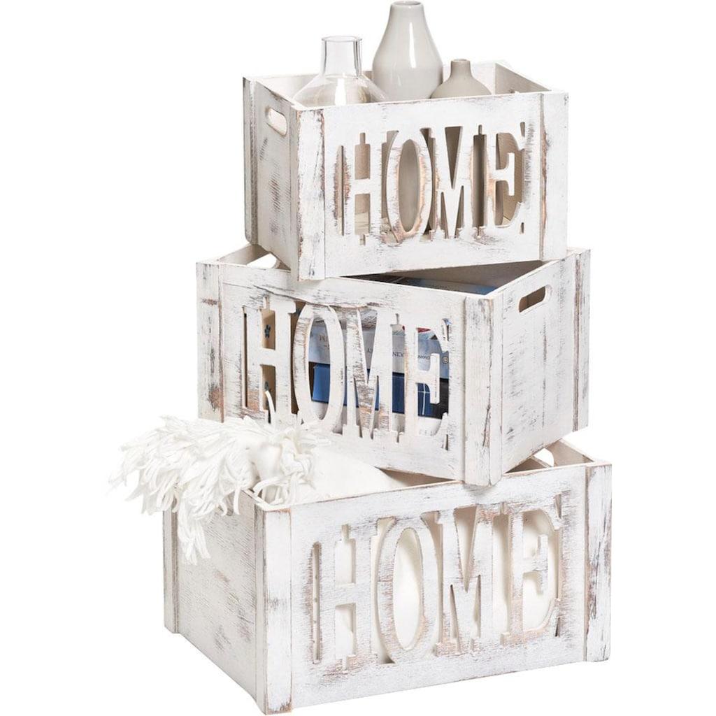 Zeller Present Aufbewahrungskiste »Home«