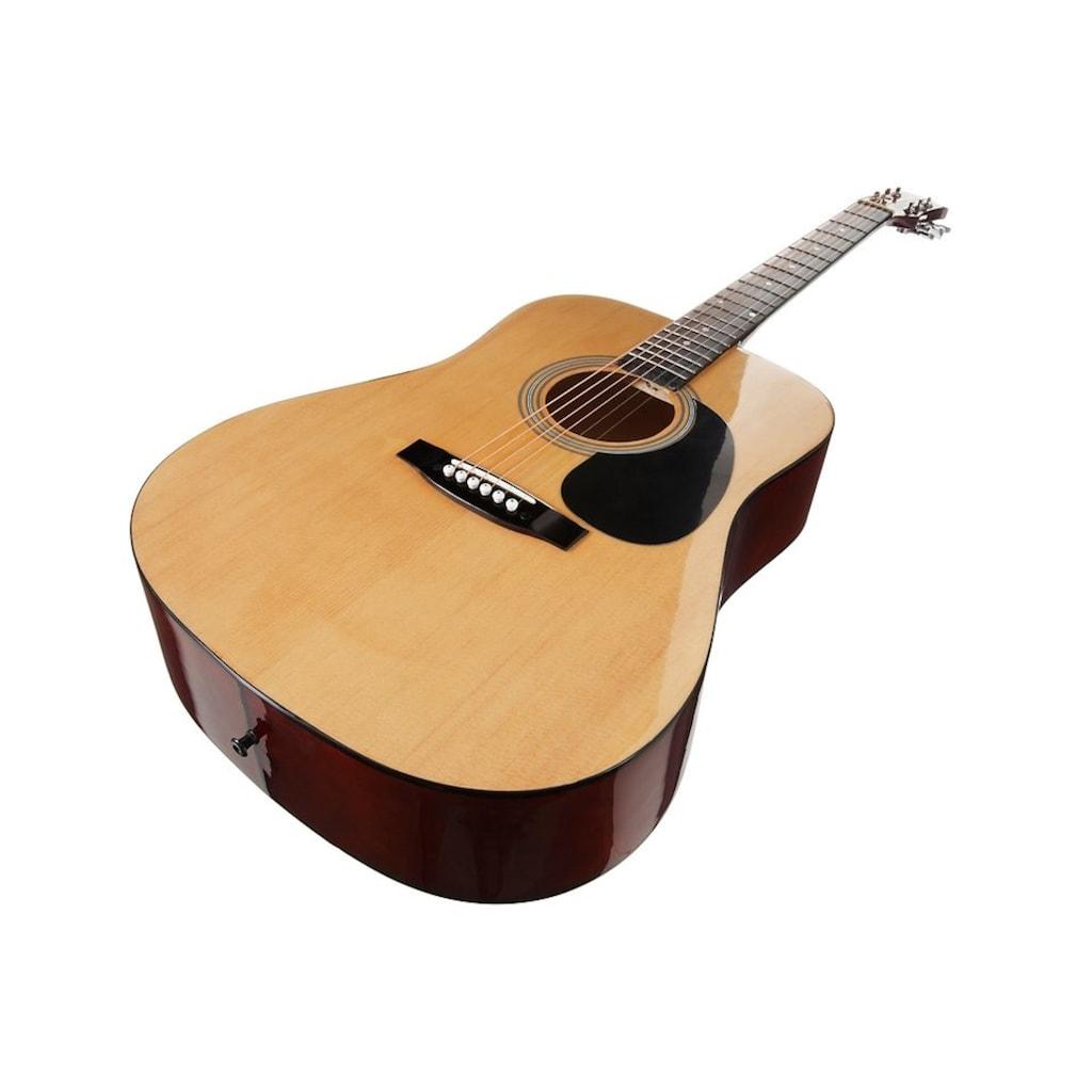 Gitarrenset »Westerngitarre«, 4/4, mit Tasche und Gitarrengurt