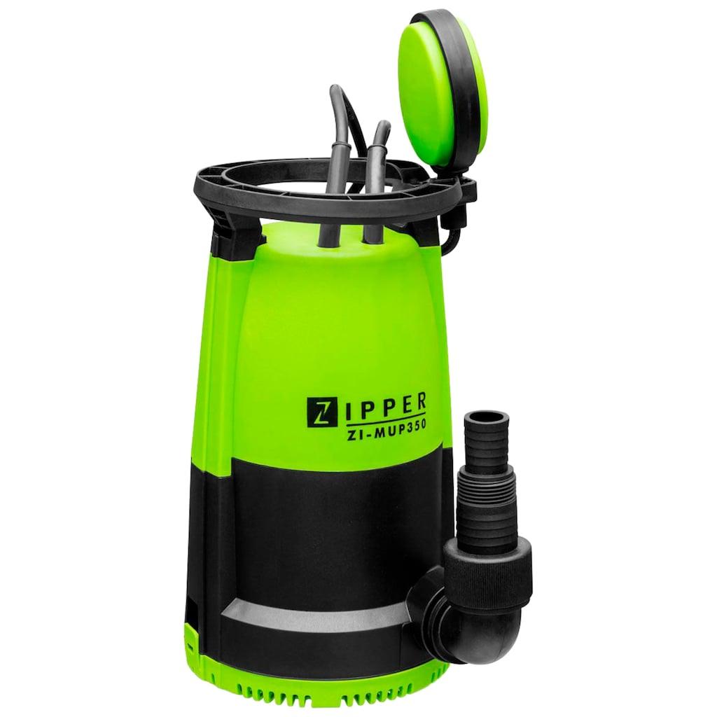 ZIPPER Gartenpumpe »ZI-MUP350«, Multipumpe, 7.500 l/h Fördermenge