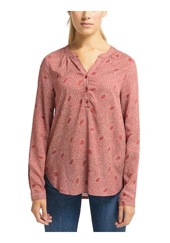 MUSTANG Shirtbluse »Emma Henley AOP« kaufen