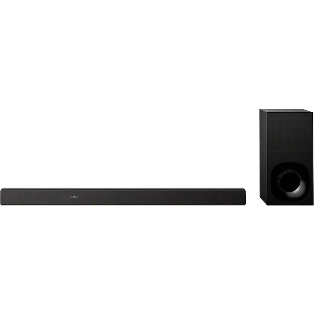 Sony Soundbar »HT-ZF9«, 3.1-Kanal Dolby Atmos/DTS:X, mit Vertical Surround Engine, WiFi, High-Resolution Audio und Subwoofer