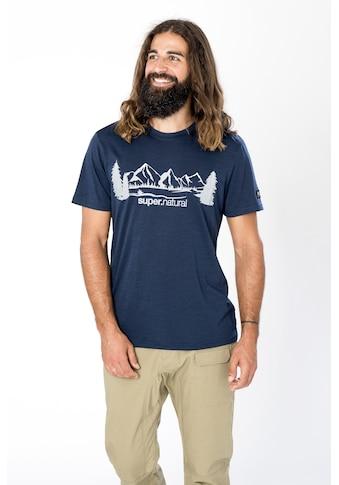 SUPER.NATURAL T - Shirt »M MOUNTAIN RANGE TEE« kaufen