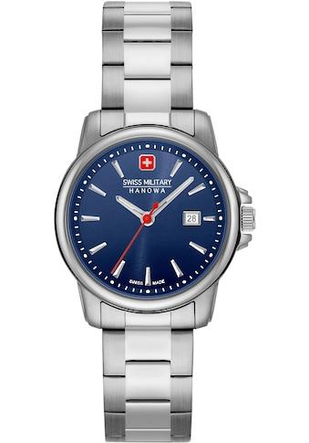 Swiss Military Hanowa Schweizer Uhr »SWISS RECRUIT LADY II, 06-7230.7.04.003« kaufen