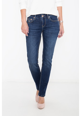 ATT Jeans 5-Pocket-Jeans »Stella«, mit Ziersteppungen, Straight Cut kaufen
