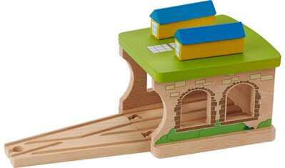 "EverEarth® Spielzeugeisenbahn - Gebäude ""Eisenbahnschuppen"" kaufen"