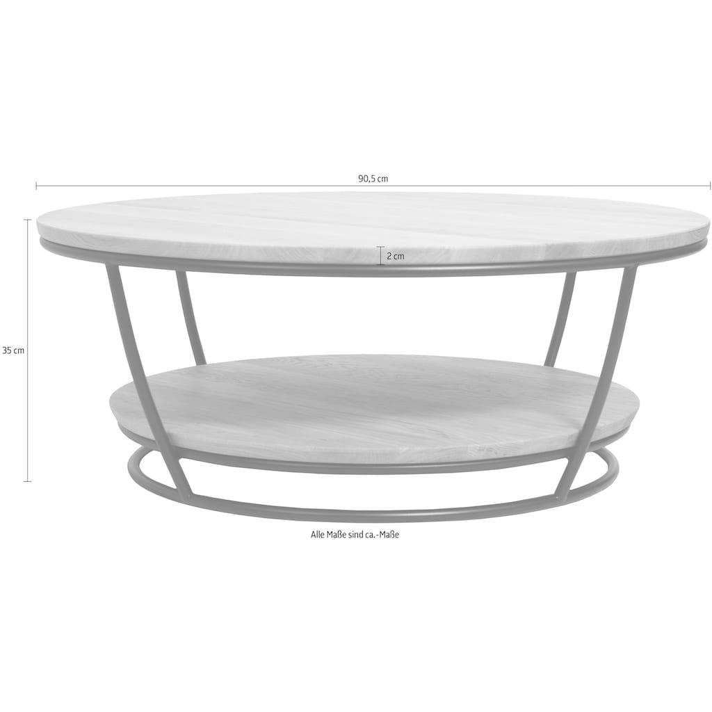 Premium collection by Home affaire Couchtisch »Krems«, Durchmesser Tischplatte: 90,5 cm