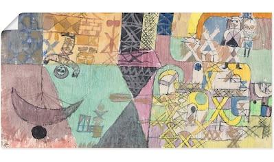 Artland Wandbild »Asiatische Gaukler. 1919« kaufen