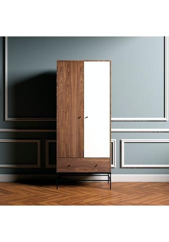 andas Kleiderschrank »Flora«, im schlichten skandinavischen Design kaufen