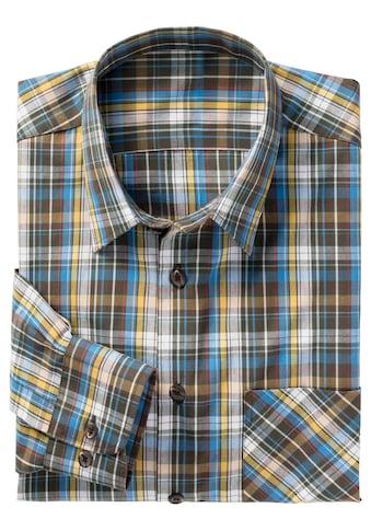 Classic Karo - Hemd aus reiner Baumwolle kaufen
