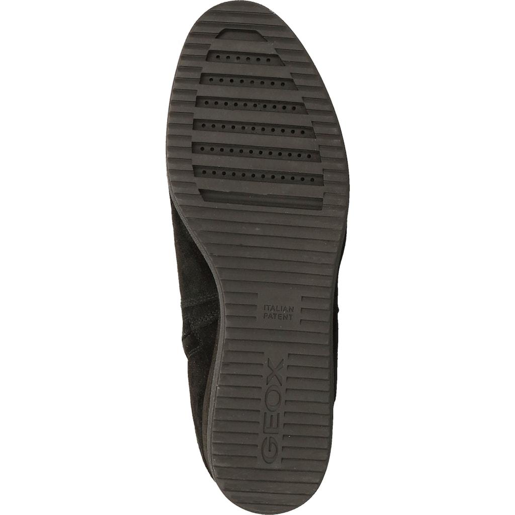 Geox Stiefel »Veloursleder«