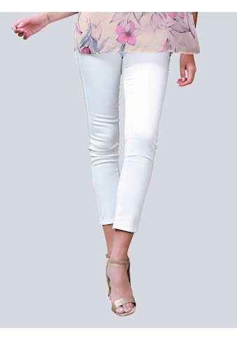 Alba Moda 5-Pocket-Jeans, mit glitzernden Galonstreifen kaufen