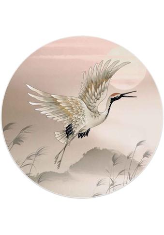 Reinders! Wandbild »Wandbild Kranich Japan - Kunst«, Vögel, (1 St.) kaufen