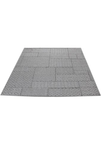 Teppich, »Cancun Patchwork«, Living Line, rechteckig, Höhe 3 mm, maschinell gewebt kaufen