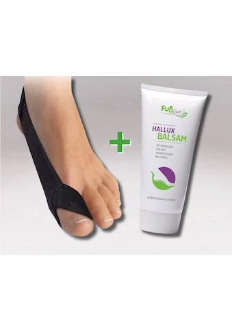 Fußgut Hallux-Bandage »Korrektur Schlaufe & Hallux Balsam«, links kaufen