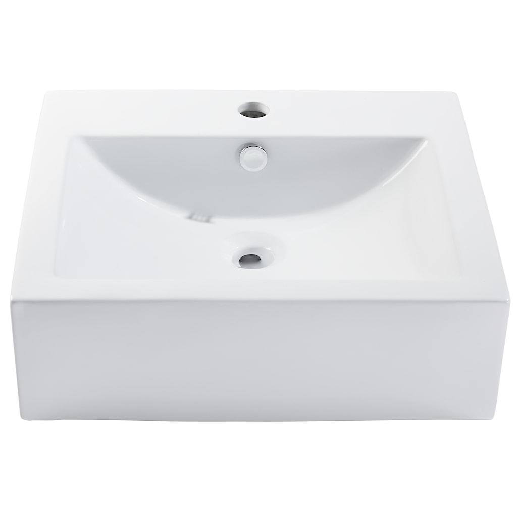 CORNAT Aufsatzwaschbecken »Alvor«, Breite 50 cm