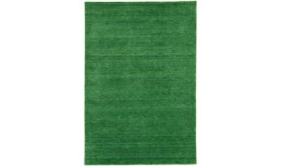 morgenland Wollteppich »GABBEH FEIN UNI«, rechteckig, 18 mm Höhe, reine Schurwolle,... kaufen