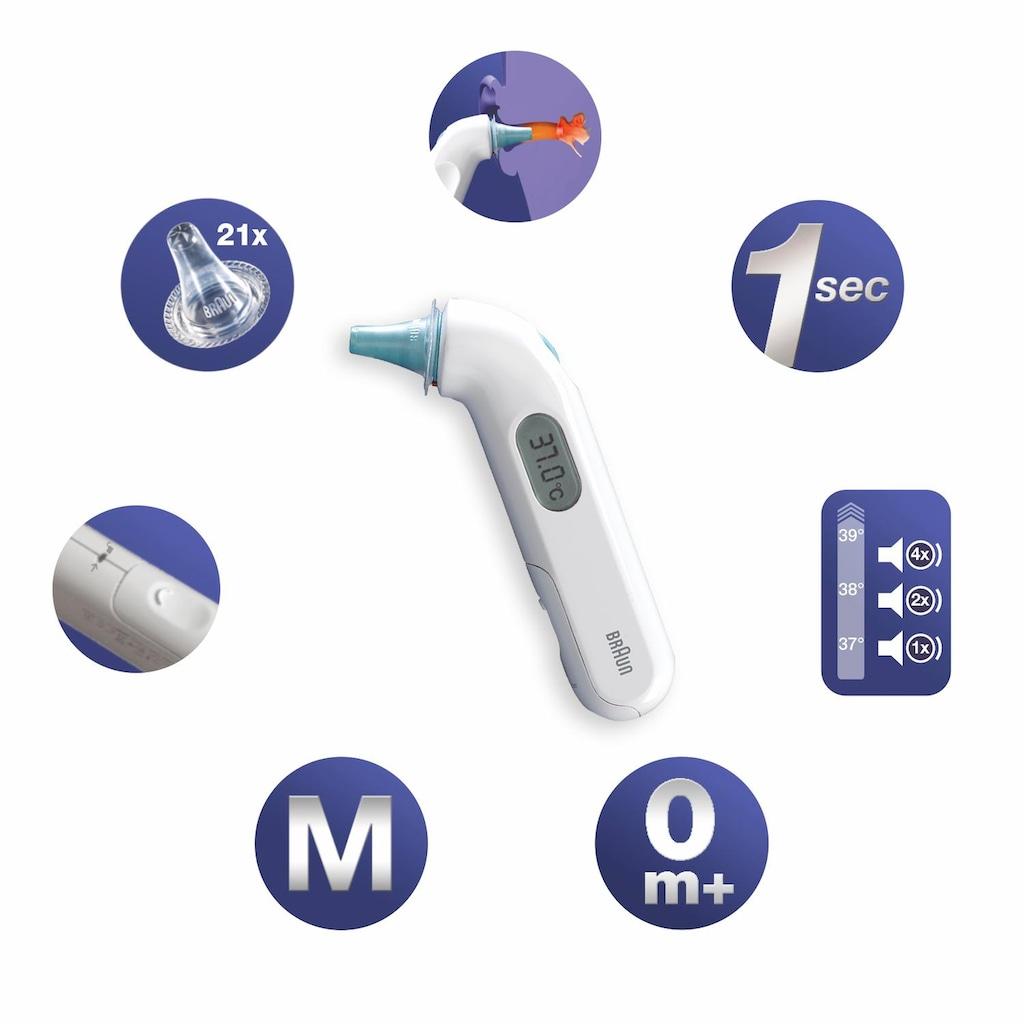 Braun Ohr-Fieberthermometer »ThermoScan® 3«