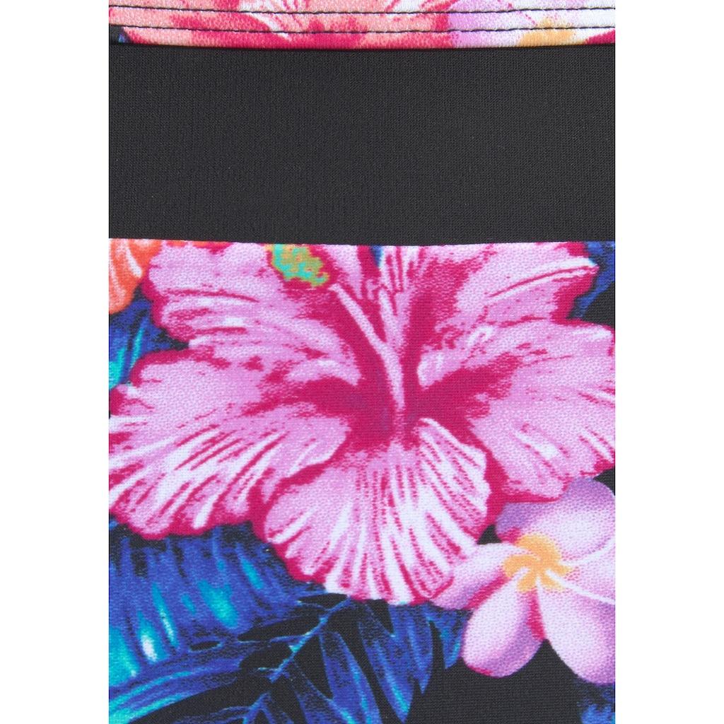 LASCANA Bügel-Bikini, mit breiten Trägern und Print