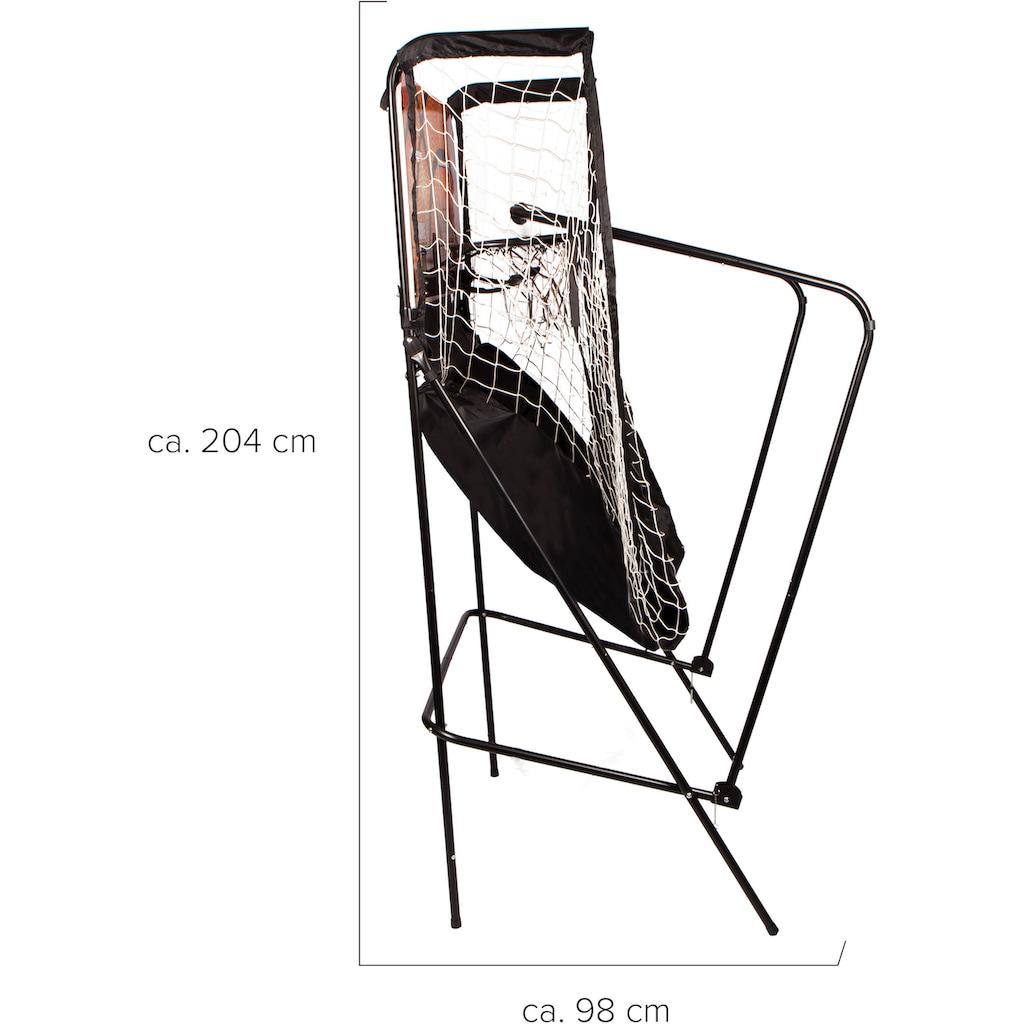 SportPlus Basketballkorb »SP-BS-100«, (inkl. 4 kleiner Basketbälle & Mini-Luftpumpe, exkl. Batterien)