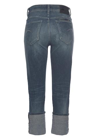 G-Star RAW Straight-Jeans »Noxer Straight Jeans«, mit Umschlagsaum – kann aufgefaltet... kaufen