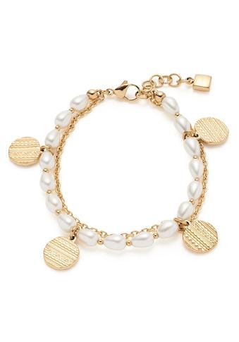 LEONARDO Armband »Ava, 018307«, mit imit. Perlen kaufen