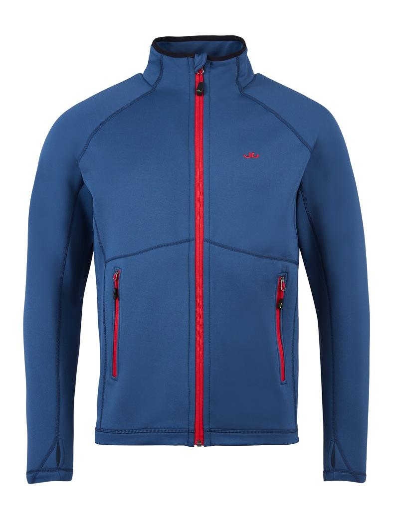 Jeff Green Softshelljacke Neil | Sportbekleidung > Sportjacken | Blau | Fleece - Wo | Jeff Green