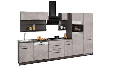 HELD MÖBEL Küchenzeile »Tulsa«, mit E - Geräten, Breite 330 cm kaufen