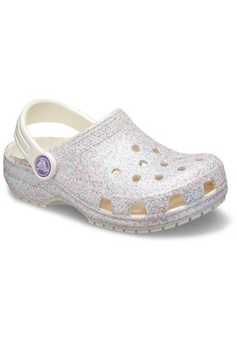 Crocs Clog »Classic Glitter Clog«, mit schwenkbarem Fersenriemen kaufen