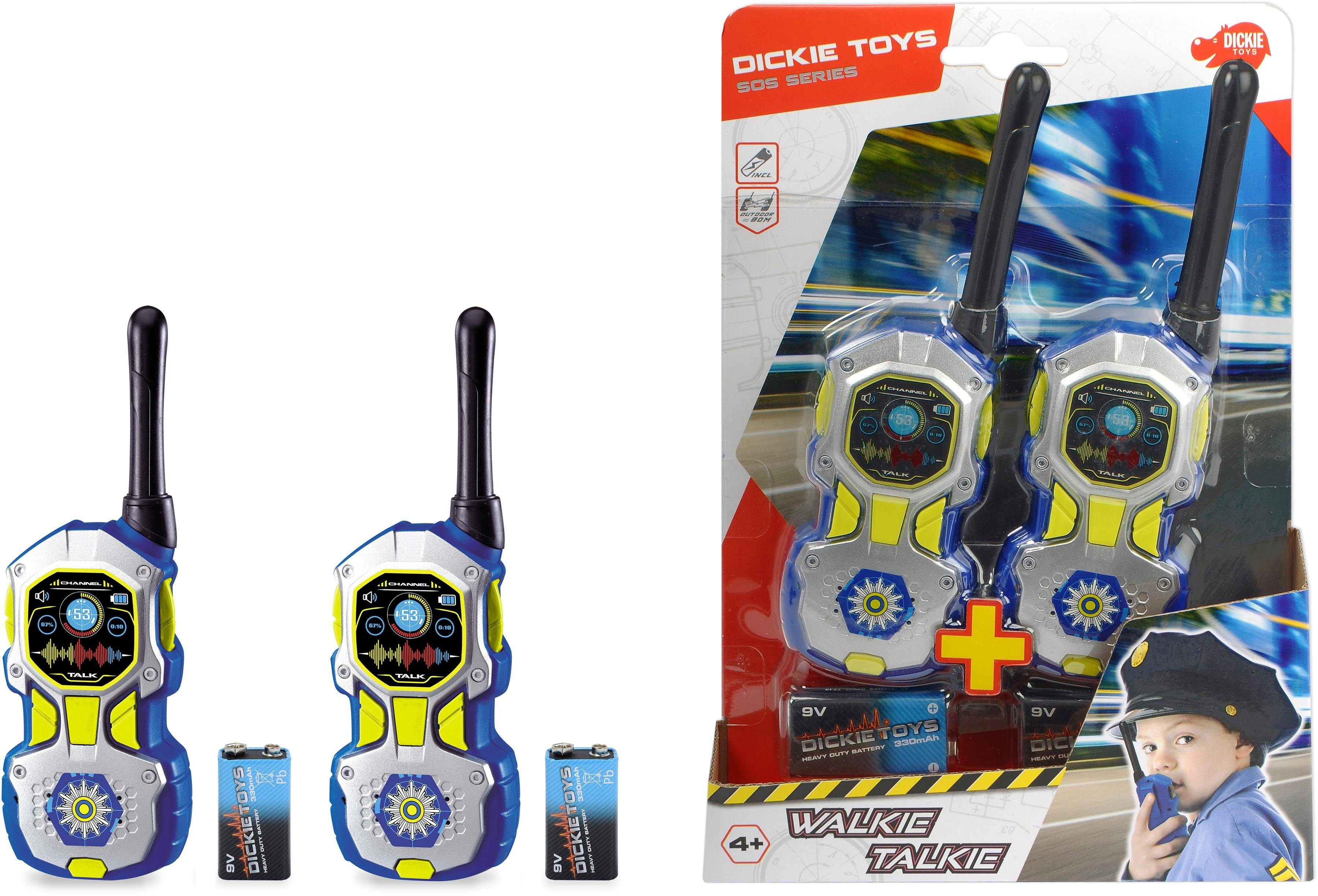 Dickie Toys Walkie Talkie Walkie Talkie Police Kindermode/Spielzeug/Elektronikspielzeug