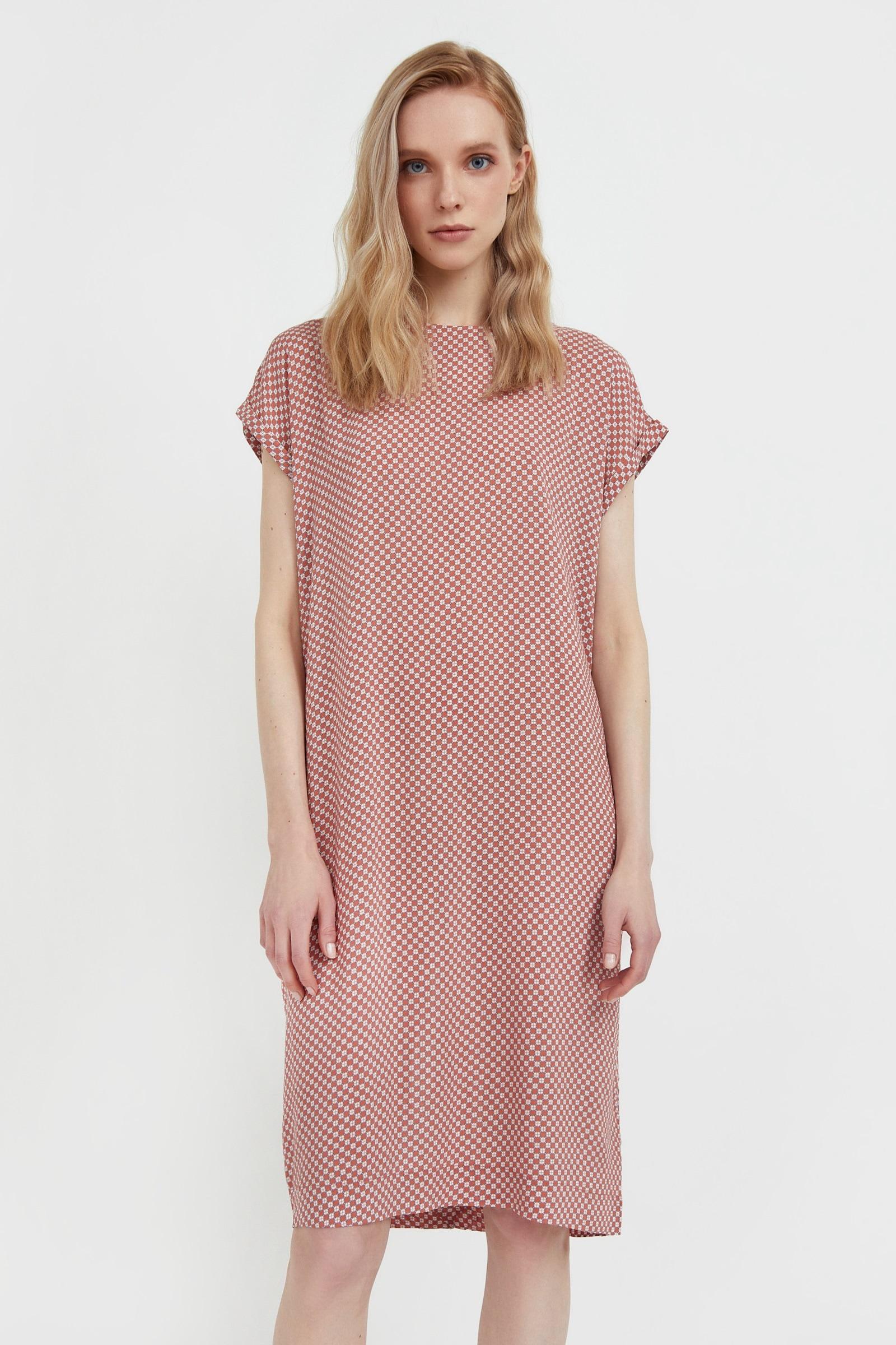 finn flare -  Jerseykleid, mit geradem Schnitt