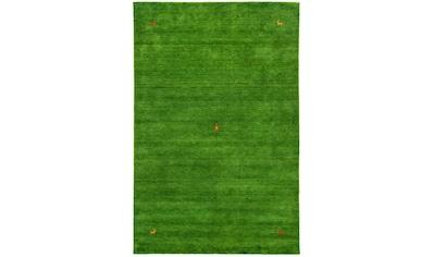 morgenland Wollteppich »GABBEH SAHARA«, rechteckig, 18 mm Höhe, reine Schurwolle, Uni... kaufen