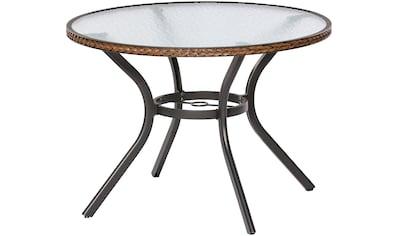 MERXX Gartentisch »Ravenna«, für den Balkon geeignet, Ø 100 cm kaufen