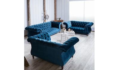 Max Winzer® Chesterfield - Sofa »Isabelle« kaufen