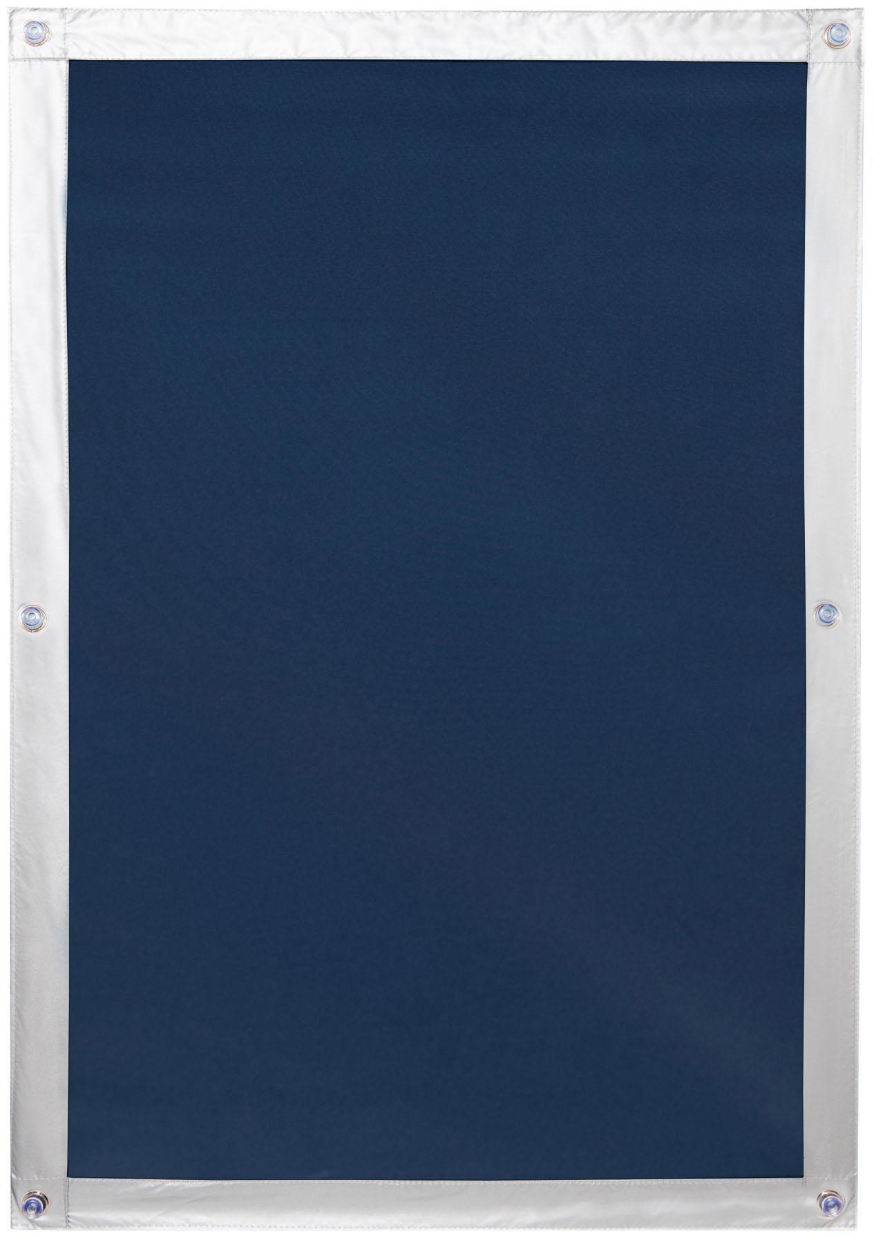 Dachfensterrollo Haftfix Hitzeschutz Abdunkelung LICHTBLICK verdunkelnd ohne Bohren verspannt Wohnen/Wohntextilien/Rollos & Jalousien/Rollos/Dachfensterrollos