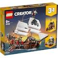 LEGO® Konstruktionsspielsteine »Piratenschiff (31109), LEGO® Creator«, (1264 St.), Made in Europe