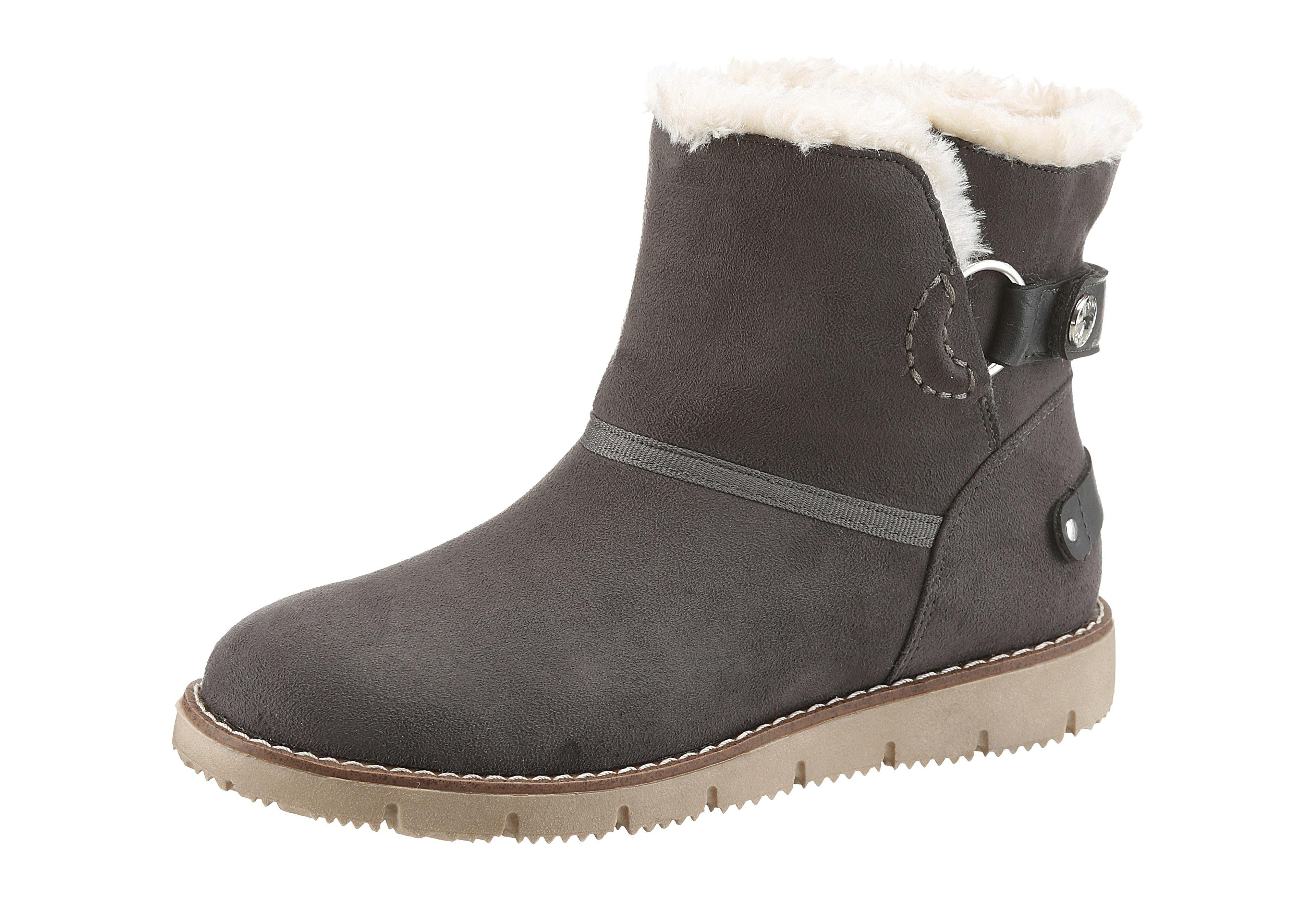 Tom Tailor Winterboots | Schuhe > Boots > Winterboots | Grau | Tom Tailor