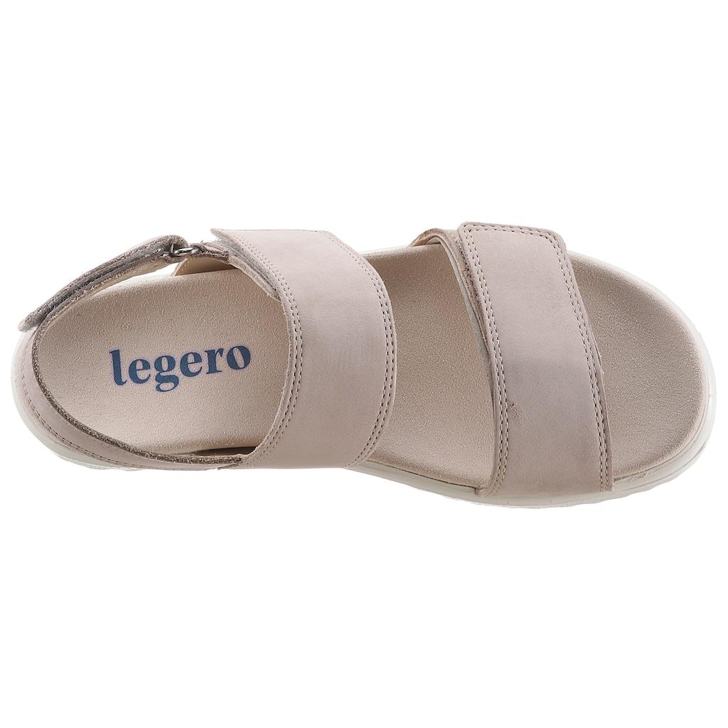 Legero Sandale »Savona«, mit Klettverschlüssen