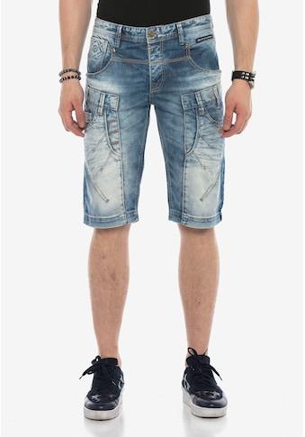 Cipo & Baxx Shorts, in sportlichem Design kaufen